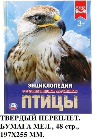 Книга Энциклопедия Птицы 02284-8 Умка
