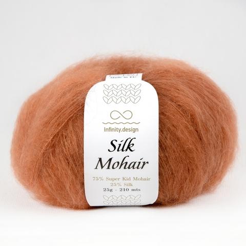 Пряжа Infinity Silk Mohair 2355 терракот