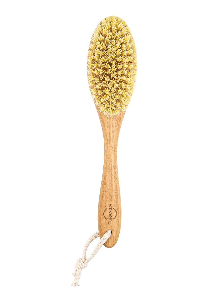 Щетка для сухого массажа с щетиной Тампико, Cactus medium Turanica