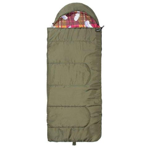 Спальный мешок Helios Батыр СОК-2У зелёный