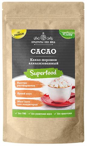 Какао-порошок алкализованный, 200 г