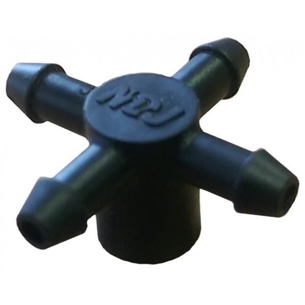 Насадка на капельницу на 4 трубки 5х3мм Irritec