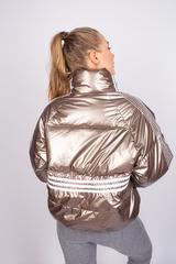 Куртка утепленная с широкими манжетами оптом