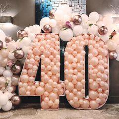 Фотозона из шаров на День Рождения