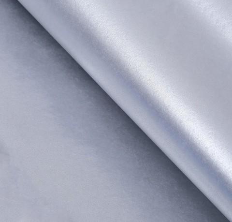 Бумага упаковочная тишью, серебристый, 50*66 см