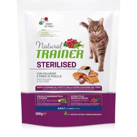 Сухой корм для стерилизованных кошек TRAINER с лососем