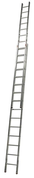 FABILO Выдвижная лестница, 2 х 15 перекладин