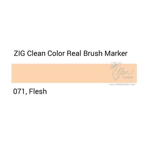 Маркер акварельный ZIG Clean Color Real Brush- штучно - 071