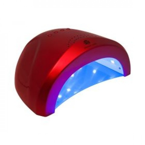 10199 LED/УФ лампа 48W  Meganetic  бордовая Planet Nails