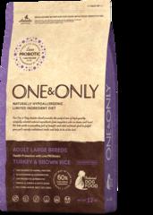 Сухой корм One&Only Turkey & Brown Rice Adult Large Breeds