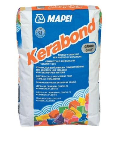 Клей плиточный МАПЕЙ Керабонд Т-Р/MAPEI Kerabond T-R/белый, 25кг