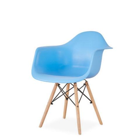 Стул-кресло DAW Eames by Vitra (голубой)