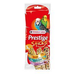 Лакомство для волнистых попугаев Versele-Laga Prestige, палочки - микс с медом, фруктами и ягодами