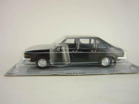 Tatra 613 black 1:43 DeAgostini Kultowe Auta PRL-u #49