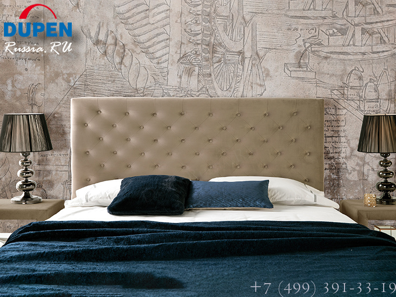 Кровать Dupen (Дюпен) 636 ALMA IVORY