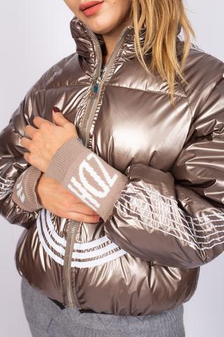 Куртка утепленная с широкими манжетами Nadya