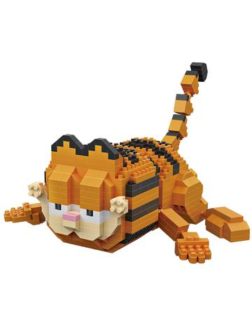 Конструктор LOZ Ползущий Гарфилд 680 деталей NO. 9759 Сrawling Garfield iBlockFun Series