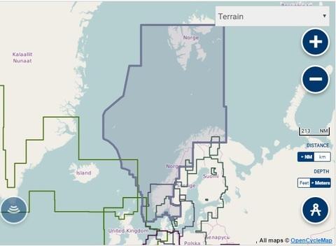 Карта: Норвегия, Navionics+ 49XG