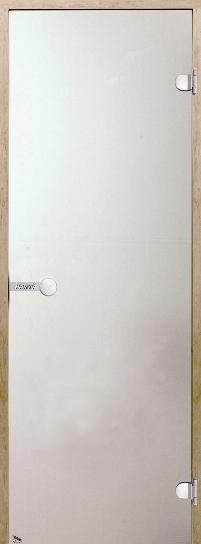 Дверь Harvia STG 8×21 коробка сосна, стекло сати, фото 1