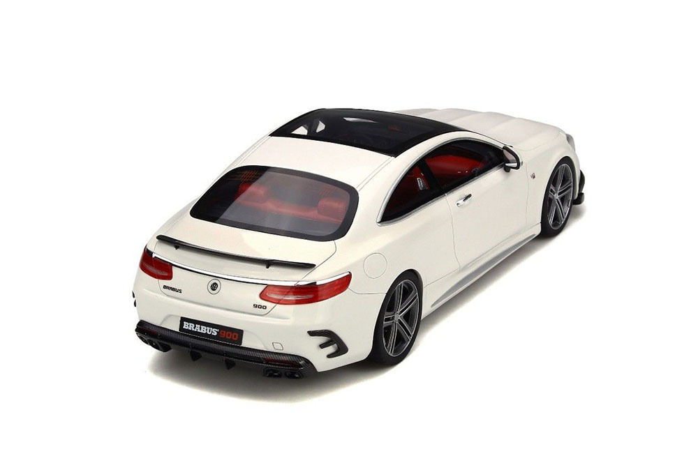 Коллекционная модель MERCEDES-BENZ S-CLASS BRABUS 900 V12 2016 WHITE