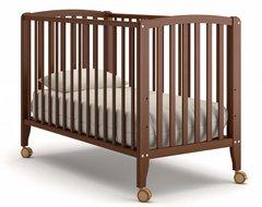 Кровать детская Бьянка на колесиках орех