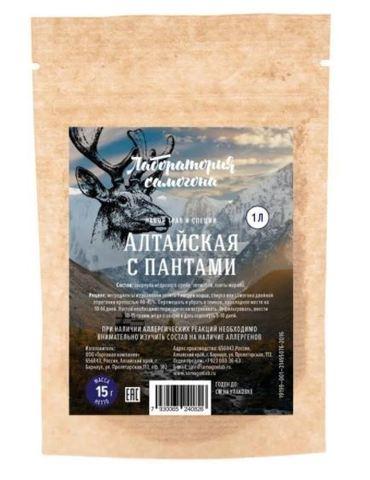 """Набор для настаивания """"Алтайская с пантами"""" на 1 литр напитка"""