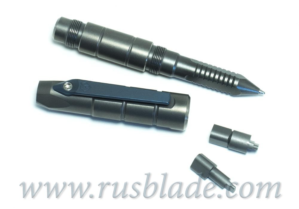 Shirogorov Pen Screwdriver Blue Clip for Flipper 95, Tabargan, Hati, F3, 110, 110b, 111.. - фотография