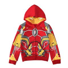 Толстовка с капюшоном-маской Железный Человек 2