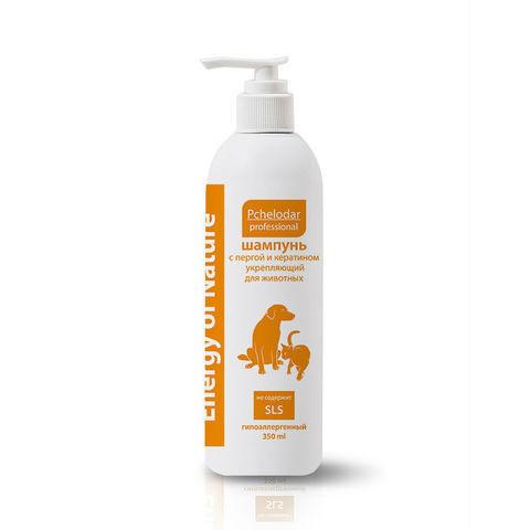 купить Пчелодар Energy of Nature ежедневный шампунь с мёдом и маслом миндаля для короткошёрстных собак и кошек