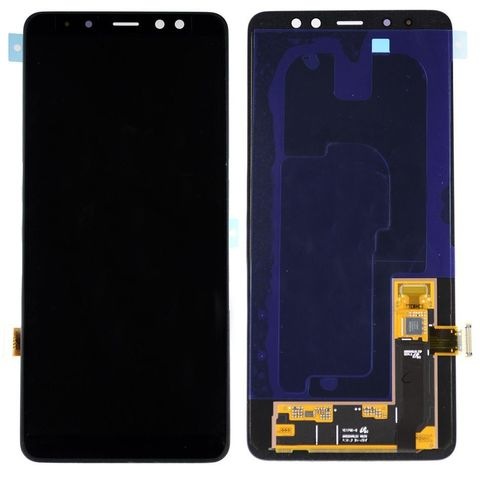 LCD SAMSUNG A8 Plus 2018 A730F + Touch Black Orig
