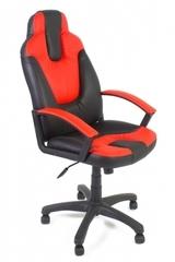 Кресло компьютерное Нео 2 (Neo 2) — черный/красный (36-6/36-161)