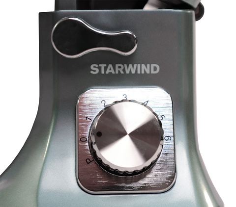 Миксер стационарный Starwind, 1000 Вт, голубой