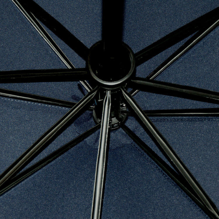 Зонт складной Moschino 8509-2 Pinstripe Topless