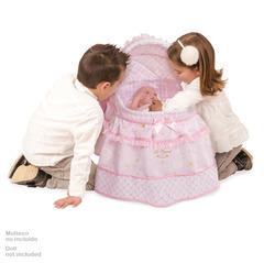 DeCuevas Кроватка для куклы с козырьком серии