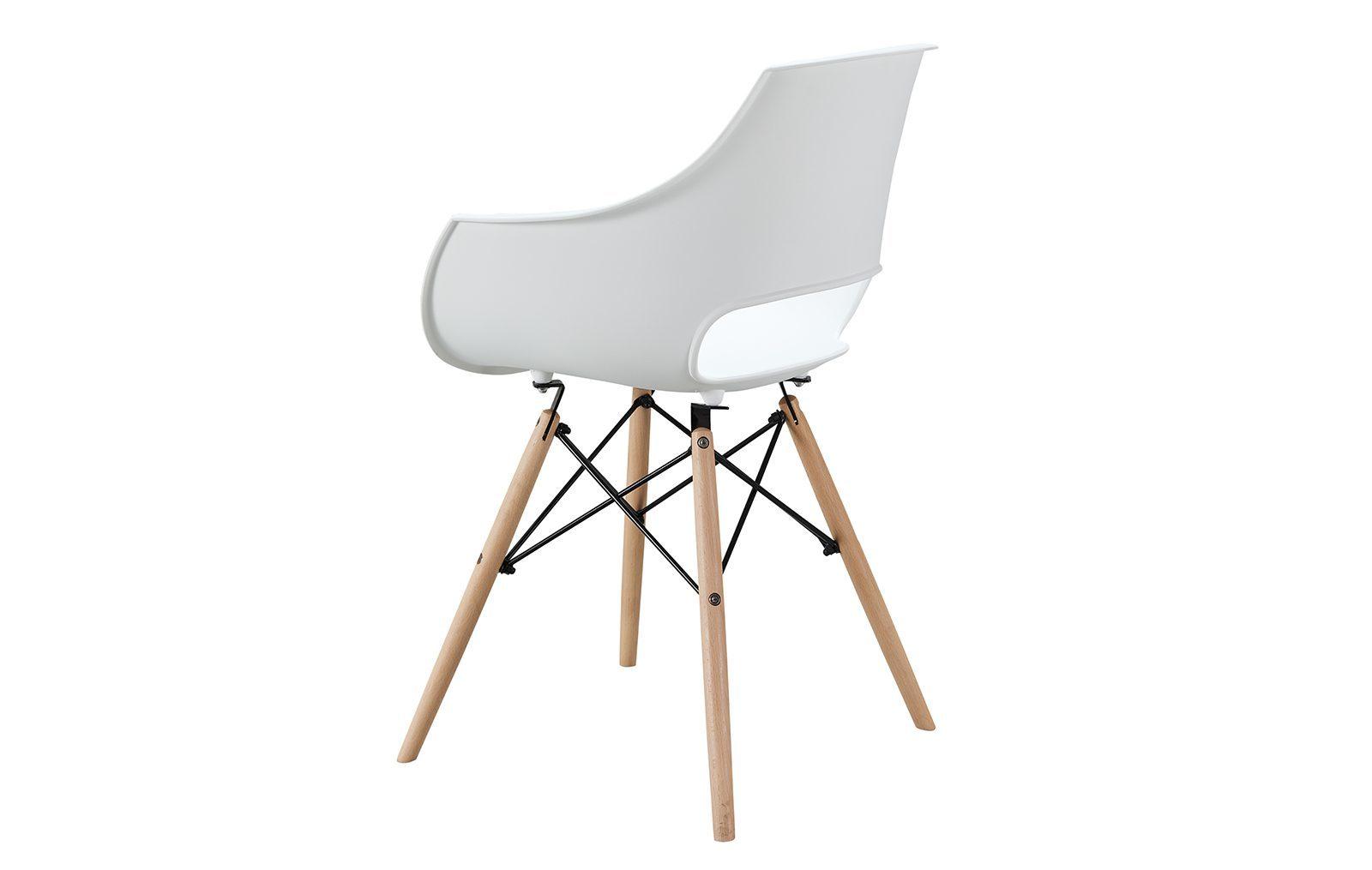 Стул PС-07 белый (matt white)