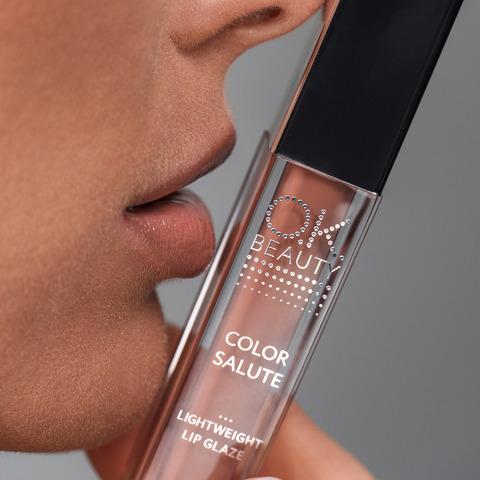 Блеск-глазурь для губ OK BEAUTY COLOR SALUTE LIGHT WEIGHT в оттенке VINYL