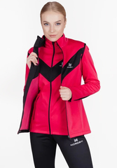 Лыжный жилет Nordski Base Pink/Black женский