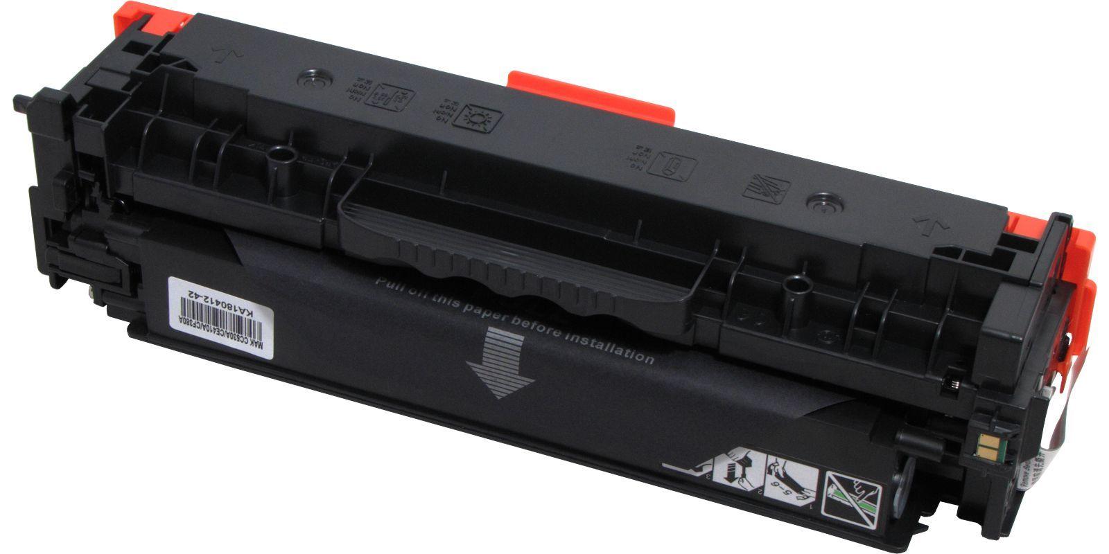 Картридж лазерный цветной MAK© 304A/305A/312A CC530A/CE410A/CF380A черный (black), до 3500 стр.