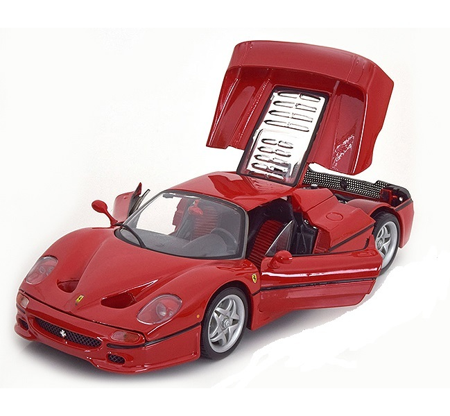 Коллекционная модель Ferrari F50 1995 Red Metallic