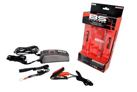 Зарядное устройство для авто и мото АКБ BS60 12V, 1/4/6A