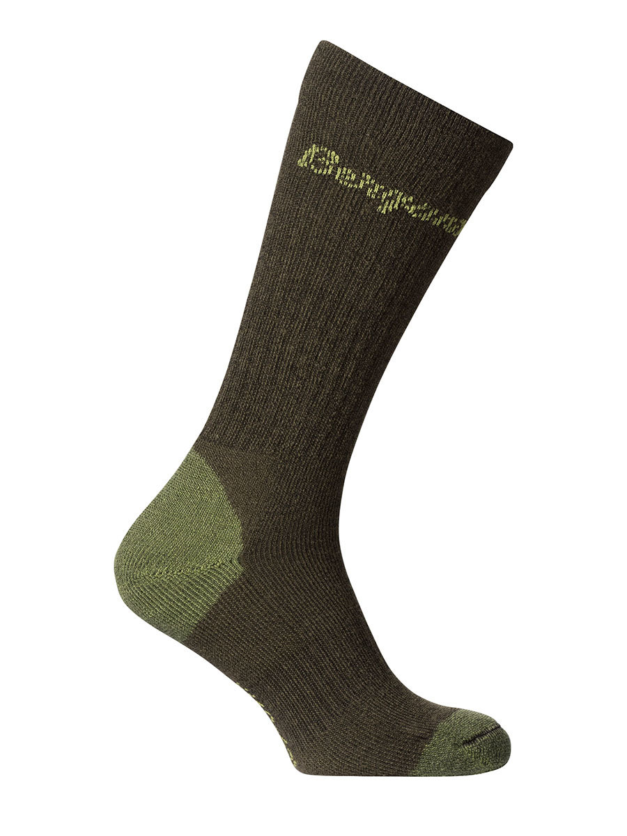 Bergans носки 9811 Hogna Wool Socks High Army Green