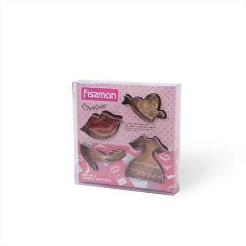 8568 FISSMAN Формы для вырезания печенья 4 шт,  купить
