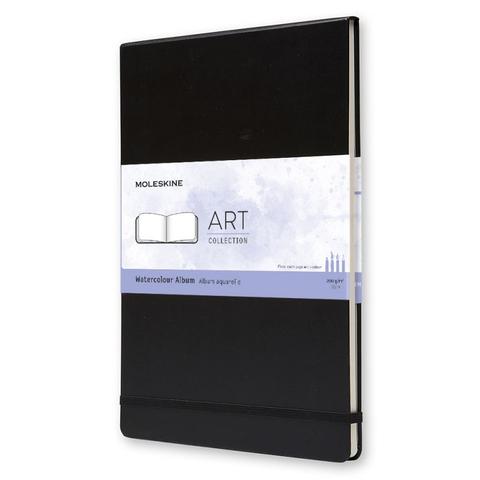 Блокнот для акварели Moleskine CLASSIC WATERCOLOUR ARTBF833 A4 60стр. твердая обложка черный