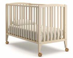 Кровать детская Бьянка на колесиках слоновая кость