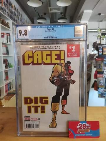 Cage #1 CGC 9.8