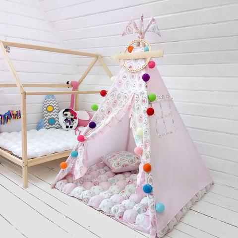 """Палатка ВигВам для детей """"Капкейк"""""""