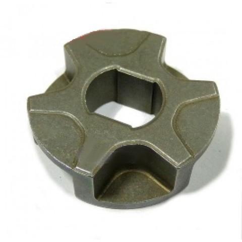Звездочка на 6 зацепов для электропилы D-30, d=8/10, Н-9,5 mm