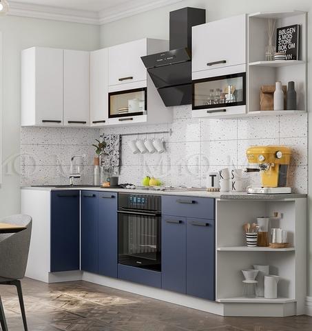 Кухня Угловая Техно NEW 0,9-2,7 м №4