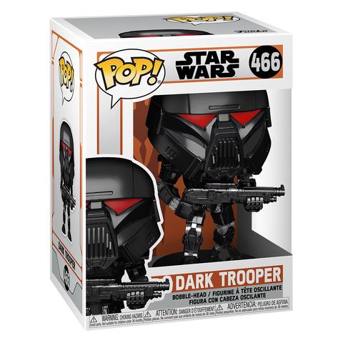 Фигурка Funko POP! Bobble Star Wars Mandalorian Dark Trooper (Battle) 58289