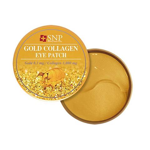 Гидрогелевые патчи с коллагеном и частицами золота SNP Gold Collagen Eye Patch